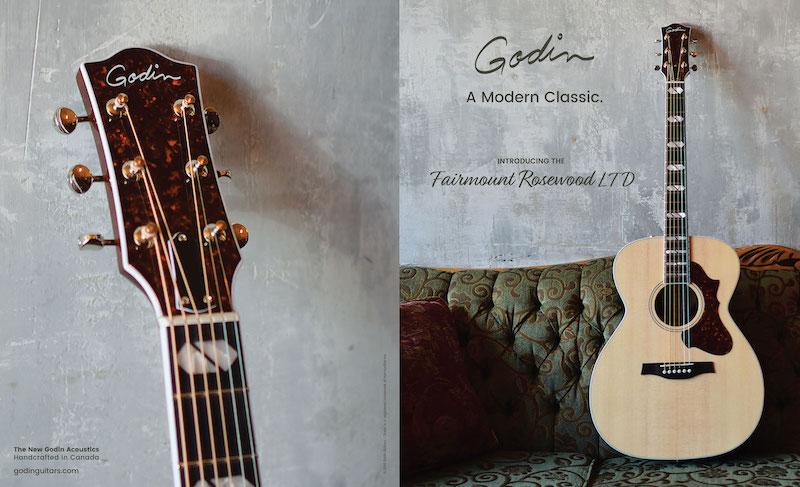 Akustisk gitarr från Godin